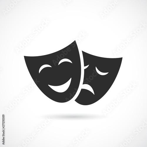 Fotografie, Obraz  Masquerade vector icon
