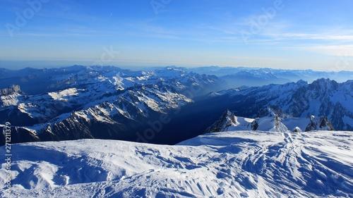 Fotografia, Obraz  mont blanc
