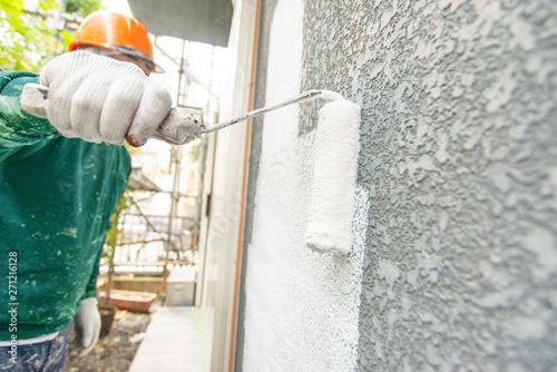 外壁塗装 Wallpaper Mural
