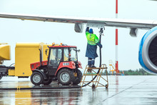 Aircraft Refueling At The Airp...