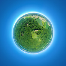 Little Planet Rural Fields And...