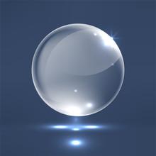 Realistic Glass Sphere
