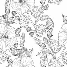 Decorative Seamless Pattern Wi...