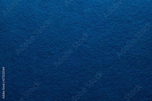 Fényképezés  Navy blue felt texture abstract art background