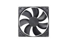One Black Plastic Fan For Desk...