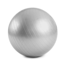 Fitness Ball On White Background