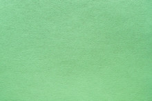 Mint Green Felt Texture Abstract Art Background. Corduroy Textile Pattern Surface. Copy Space.