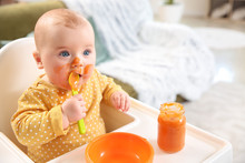 Cute Little Baby Eating Tasty ...