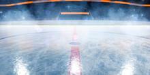Hockey Ice Rink Sport Arena Em...