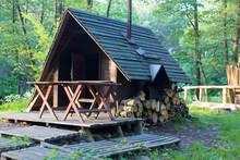 West Culture, Wigwam, Camping, Countyside, Tourism, Travel Concept