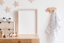 Stylish Scandi Childroom Withw...