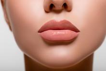 Beautiful Lips Macro. Beauty. ...
