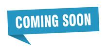 Coming Soon 3d Speech Bubble S...