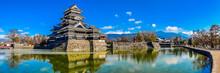 Matsumoto Castle Exterior, Nagano, Japan
