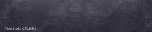 Valokuva  Dark stone texture background Copy space Panorama Banner