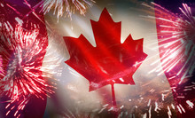 Canada Flag National Holiday F...