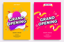 Grand Opening Invitationt Temp...