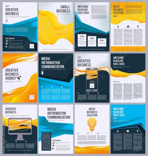 Fotografie, Obraz  Business flyer template