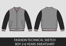 Fashion Technical Sketch Boy 2...