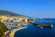 France, Corsica, Bastia, Old Harbor