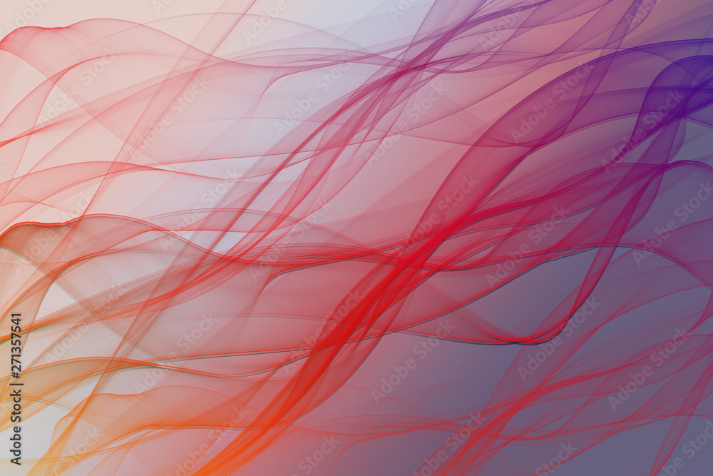 Geometric abstract background with colorful lines