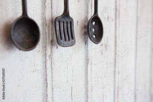 Fotomural  Ancient kitchenware