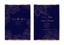 Luxury Wedding Invite And Save...