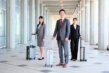 男女 スーツ スーツケース