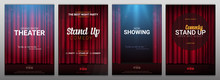 Set Of Stand Up And Theater Ba...