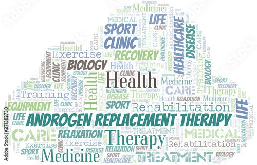 Photo Androgen Replacement Therapy word cloud