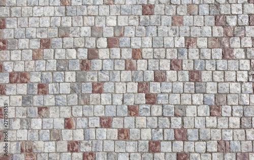 Fotografiet Background of stone floor texture.