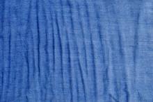 Blue Fabric Cloth Texture
