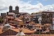 Porto old town landscape. Visit Portugal concept.