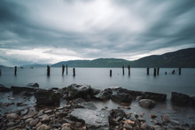 Landscape Of Loch Ness Lake, Dores, Scotland