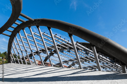 Valokuva  struttura in metallo