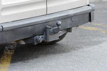 Car Hitch Close-up