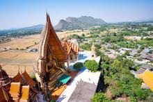 Kanchanaburi, Thailand-December 27, 2018, Tiger Cave Temple (Wat Tham Sua) In Kanchanaburi, Thailand.