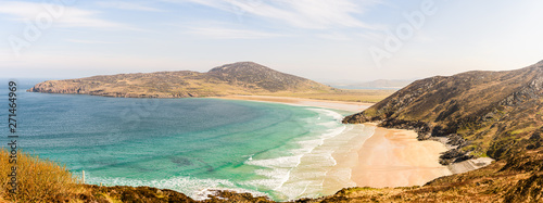 Fotografiet Tra na Rossan, shoreline of County Donegal, Ireland