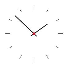 Simple Illustration Of Clock F...