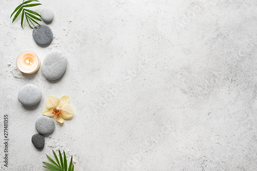La pose en embrasure Zen Spa Background