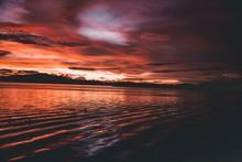 Sky Meets Sea At Horizon