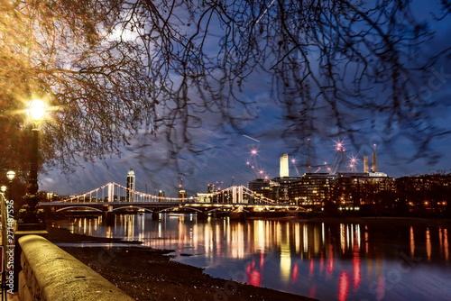 London at dawn Fototapet