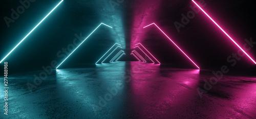 Future Neon Lights Sci Fi F...