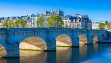 Paris, View Of The Pont-N...