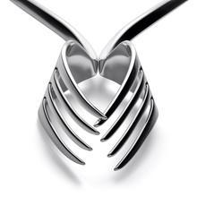 Forks Heart Silhouette