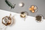 tea decoration detox table