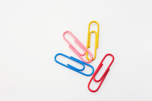 Multi-colored Paper Clips  On ...