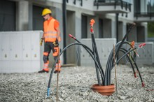 High Voltage Cables Installation