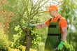 Leinwandbild Motiv Summer Garden Maintenance