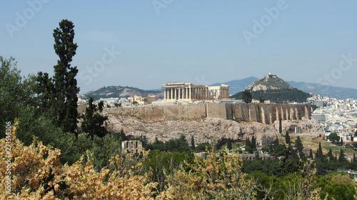 Printed kitchen splashbacks Athens Blick auf Athen, Griechenland